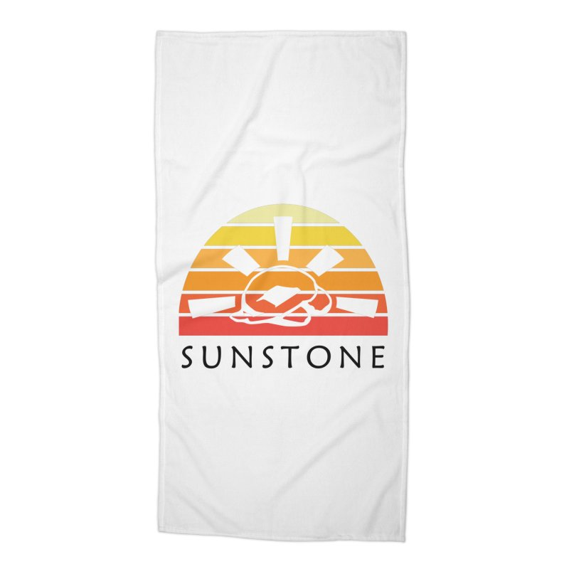 Vintage Ray (M) Accessories Beach Towel by sunstoneFIT's Shop