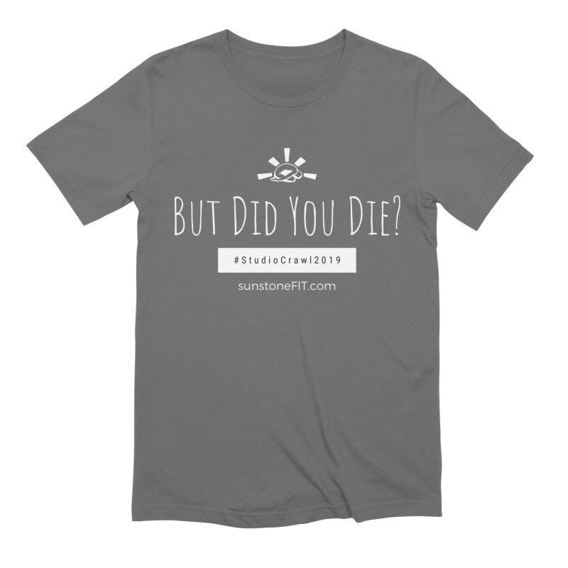 Studio Crawl White Font Men's Extra Soft T-Shirt by sunstoneFIT's Shop