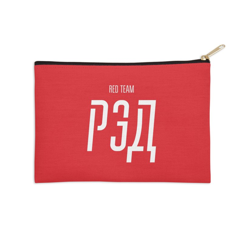 РЭД / RED Accessories Zip Pouch by СУПЕР* / SUPER*