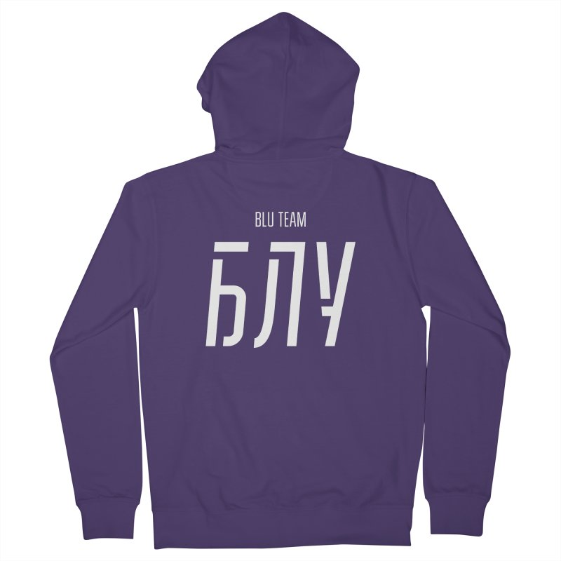 БЛУ / BLU Women's French Terry Zip-Up Hoody by СУПЕР* / SUPER*