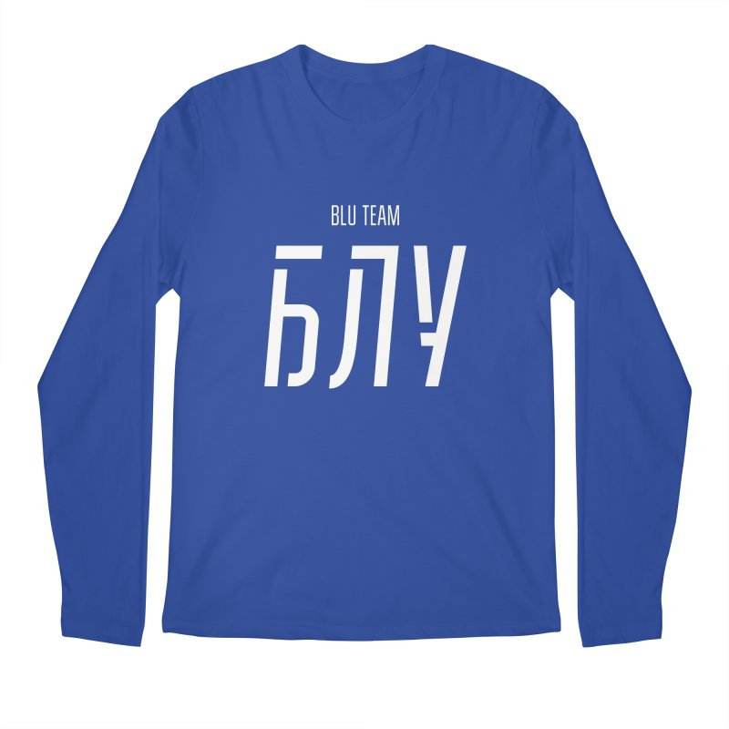 БЛУ / BLU Men's Regular Longsleeve T-Shirt by СУПЕР* / SUPER*