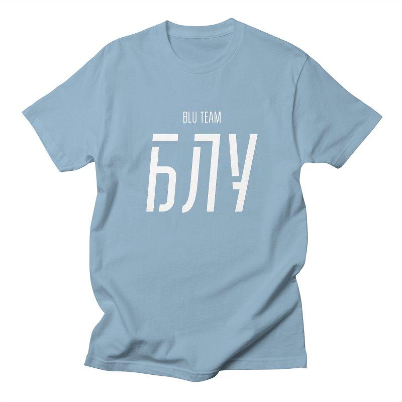 БЛУ / BLU Women's Regular Unisex T-Shirt by СУПЕР* / SUPER*