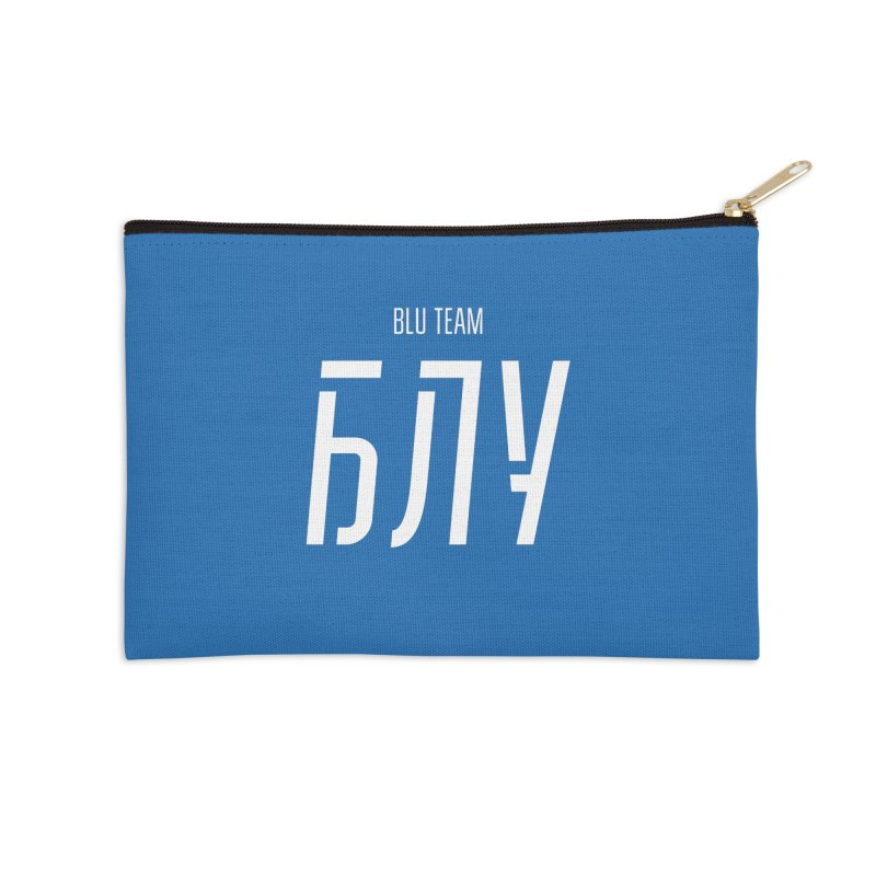БЛУ / BLU Accessories Zip Pouch by СУПЕР* / SUPER*