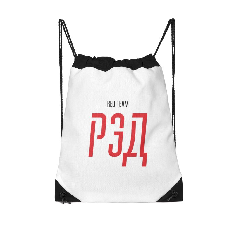 ЛАЙТ РЭД / LIGHT RED Accessories Drawstring Bag Bag by СУПЕР* / SUPER*