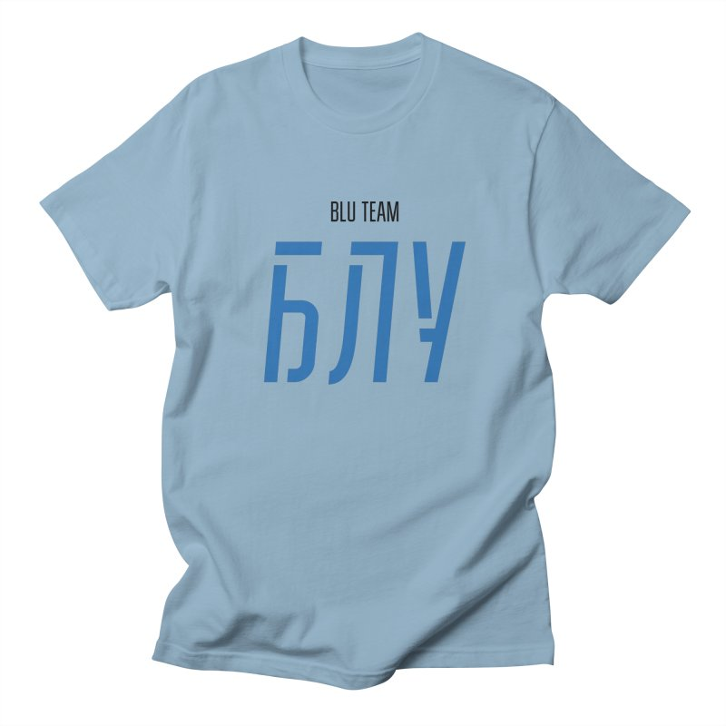 ЛАЙТ БЛУ / LIGHT BLU Women's Regular Unisex T-Shirt by СУПЕР* / SUPER*