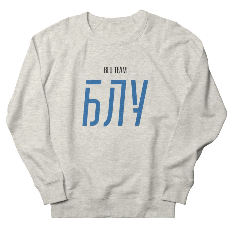 ЛАЙТ БЛУ / LIGHT BLU Women's French Terry Sweatshirt by СУПЕР* / SUPER*