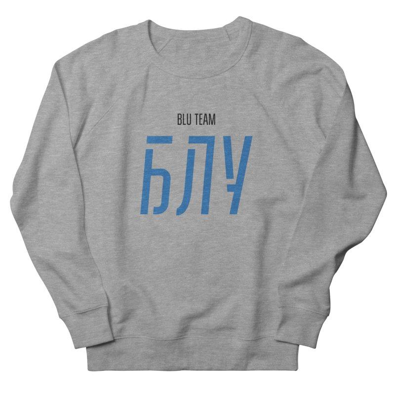 ЛАЙТ БЛУ / LIGHT BLU Men's French Terry Sweatshirt by СУПЕР* / SUPER*