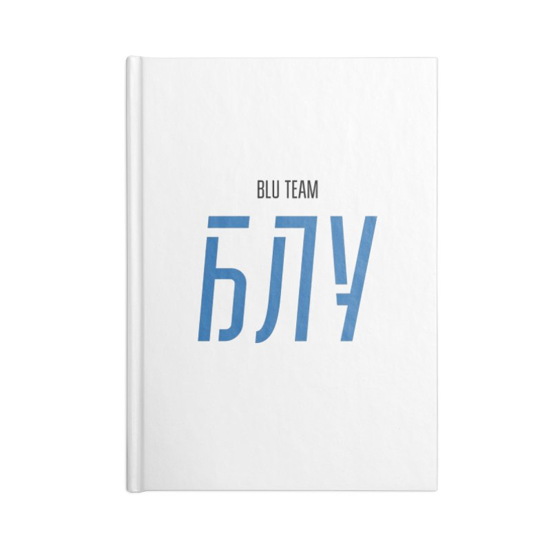 ЛАЙТ БЛУ / LIGHT BLU Accessories Lined Journal Notebook by СУПЕР* / SUPER*