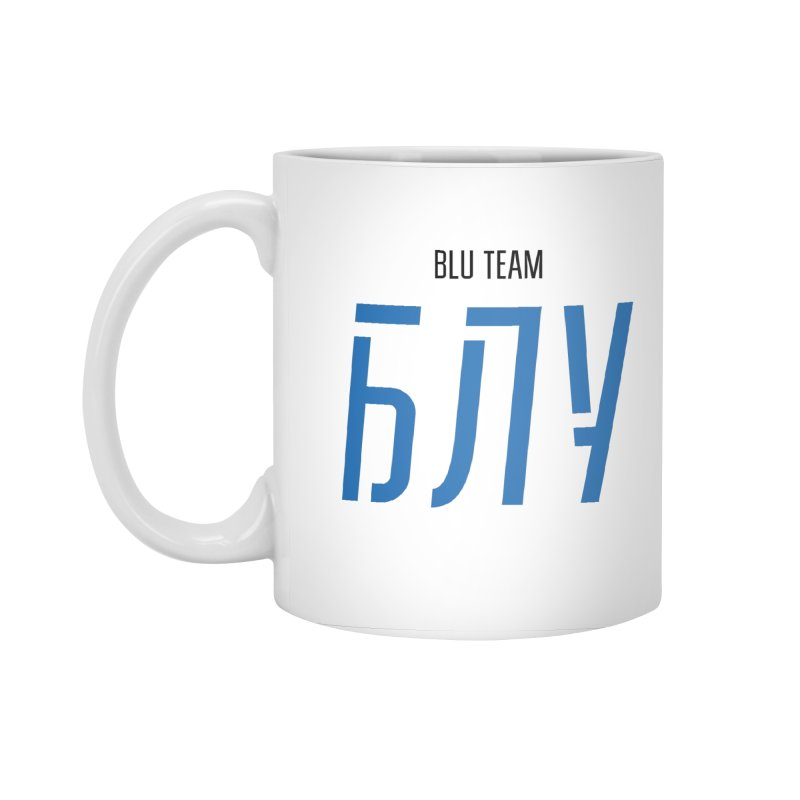 ЛАЙТ БЛУ / LIGHT BLU Accessories Standard Mug by СУПЕР* / SUPER*
