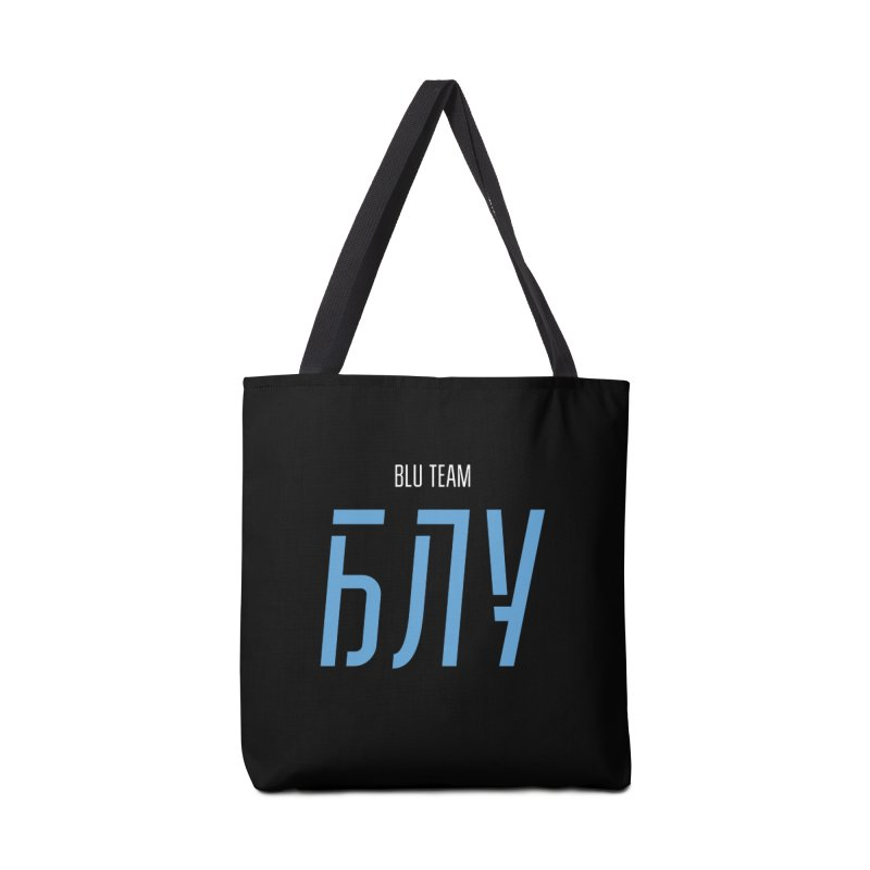ДАРК БЛУ / DARK BLU Accessories Tote Bag Bag by СУПЕР* / SUPER*