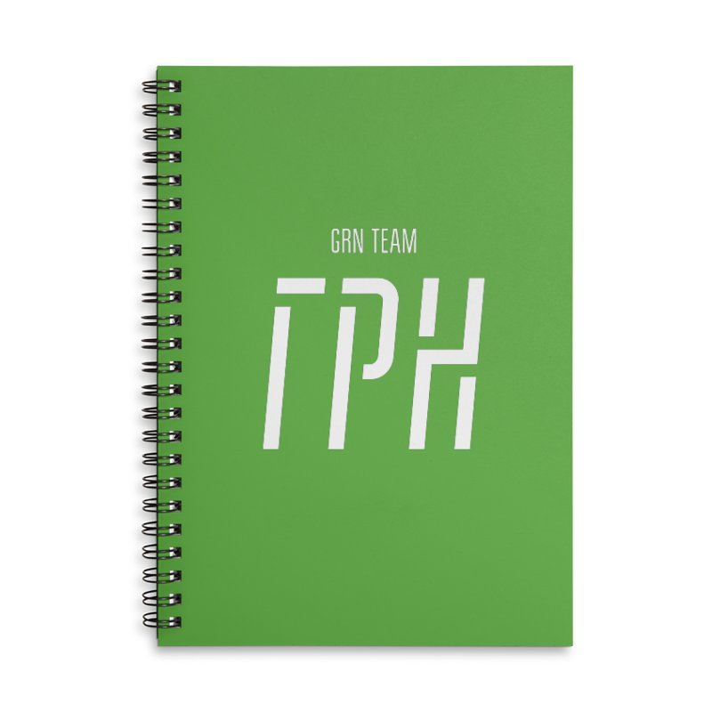 ГРН / GRN Accessories Lined Spiral Notebook by СУПЕР* / SUPER*
