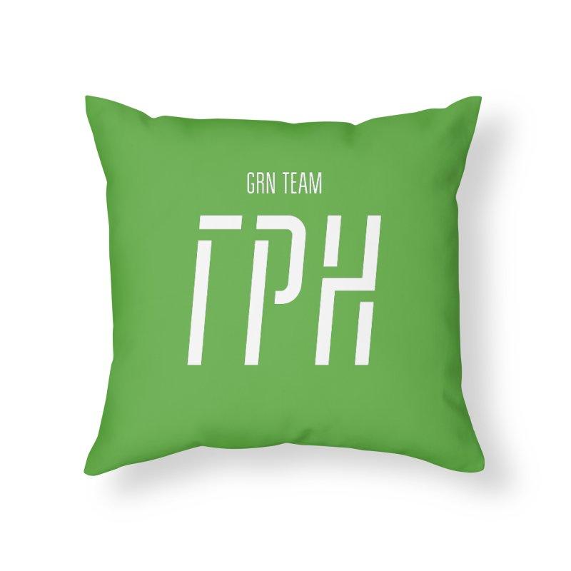 ГРН / GRN Home Throw Pillow by СУПЕР* / SUPER*