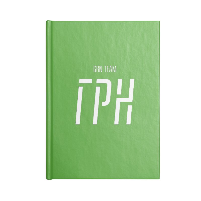 ГРН / GRN Accessories Blank Journal Notebook by СУПЕР* / SUPER*