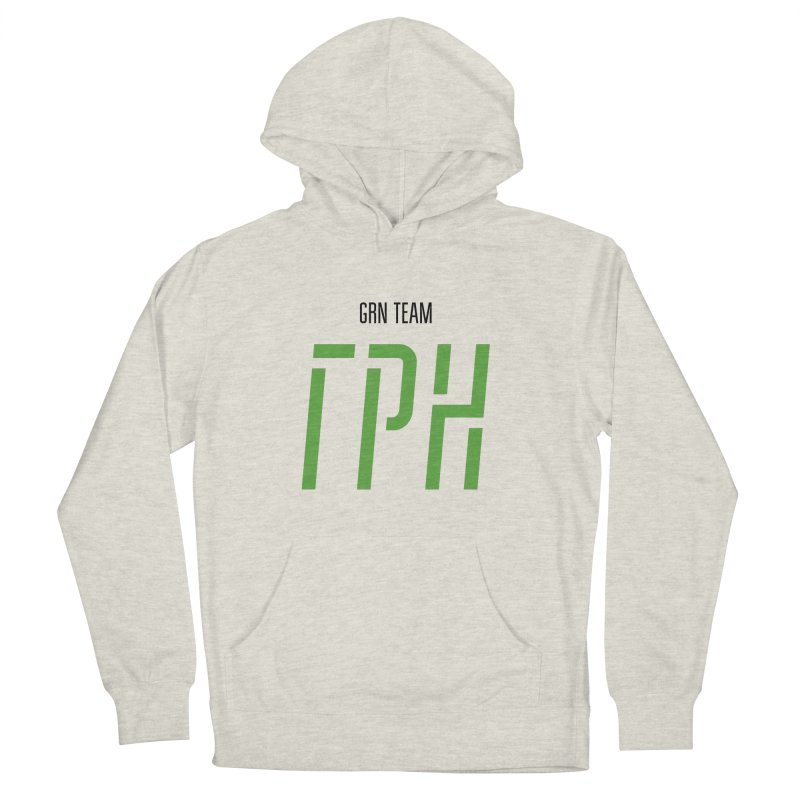 ЛАЙТ ГРН / LIGHT GRN Men's French Terry Pullover Hoody by СУПЕР* / SUPER*