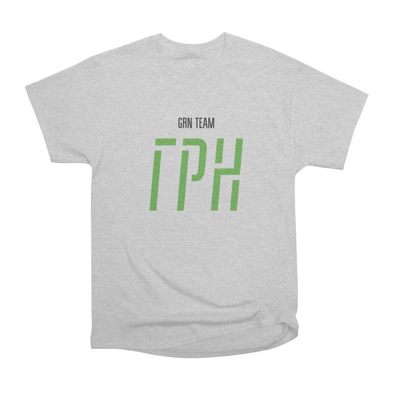 ЛАЙТ ГРН / LIGHT GRN Women's Heavyweight Unisex T-Shirt by СУПЕР* / SUPER*
