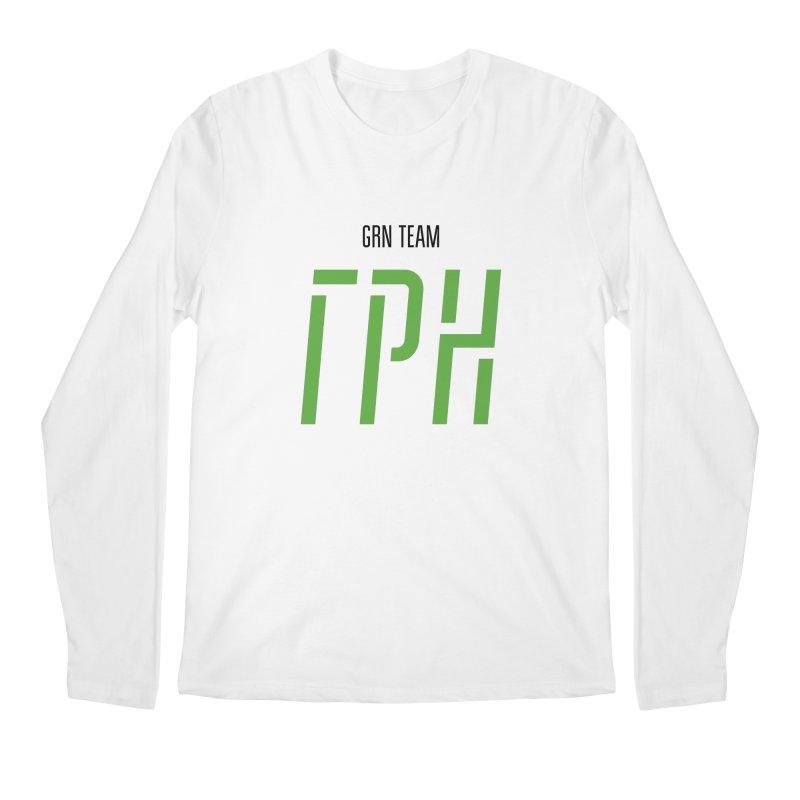 ЛАЙТ ГРН / LIGHT GRN Men's Regular Longsleeve T-Shirt by СУПЕР* / SUPER*
