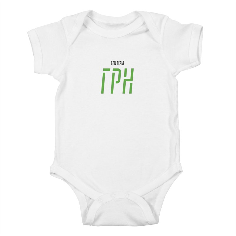 ЛАЙТ ГРН / LIGHT GRN Kids Baby Bodysuit by СУПЕР* / SUPER*