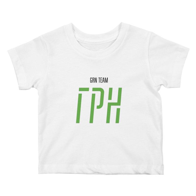 ЛАЙТ ГРН / LIGHT GRN Kids Baby T-Shirt by СУПЕР* / SUPER*