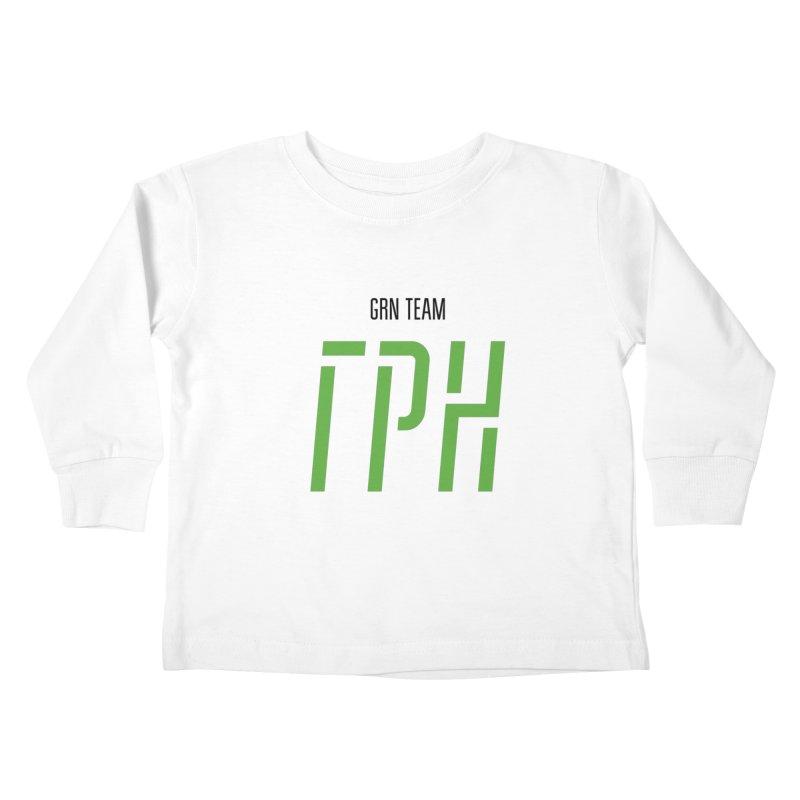 ЛАЙТ ГРН / LIGHT GRN Kids Toddler Longsleeve T-Shirt by СУПЕР* / SUPER*