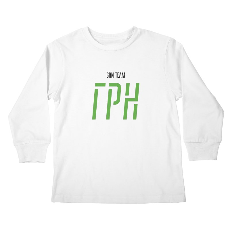 ЛАЙТ ГРН / LIGHT GRN Kids Longsleeve T-Shirt by СУПЕР* / SUPER*