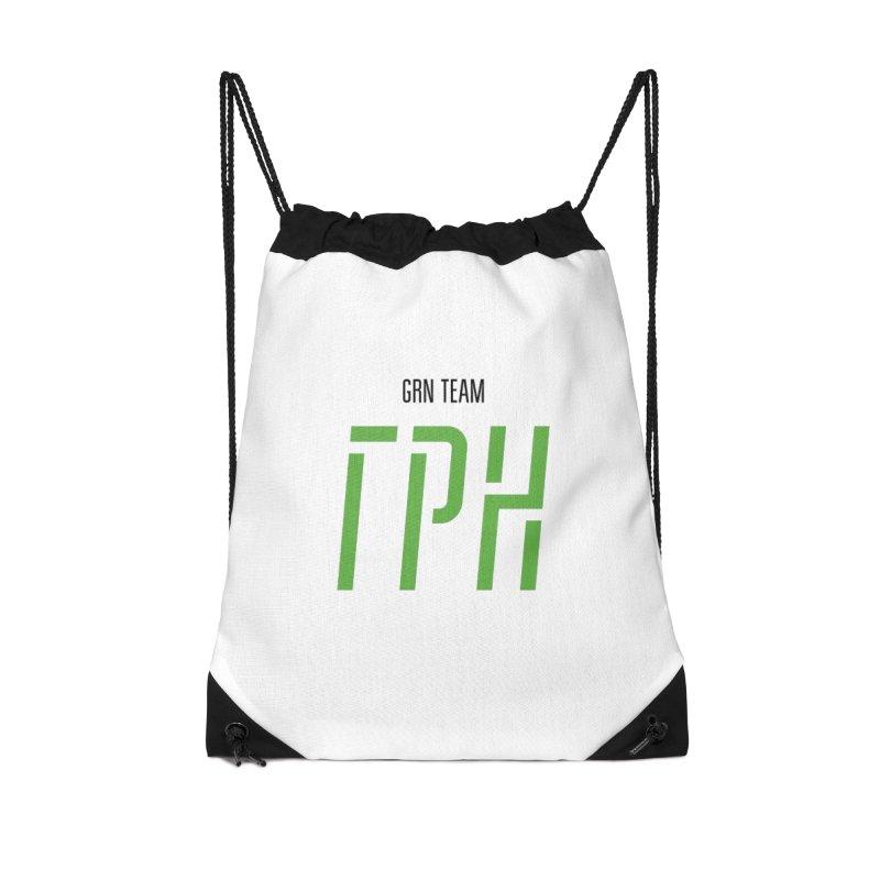 ЛАЙТ ГРН / LIGHT GRN Accessories Drawstring Bag Bag by СУПЕР* / SUPER*