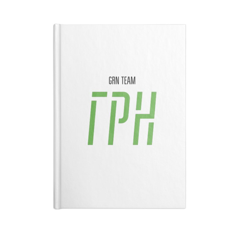 ЛАЙТ ГРН / LIGHT GRN Accessories Lined Journal Notebook by СУПЕР* / SUPER*