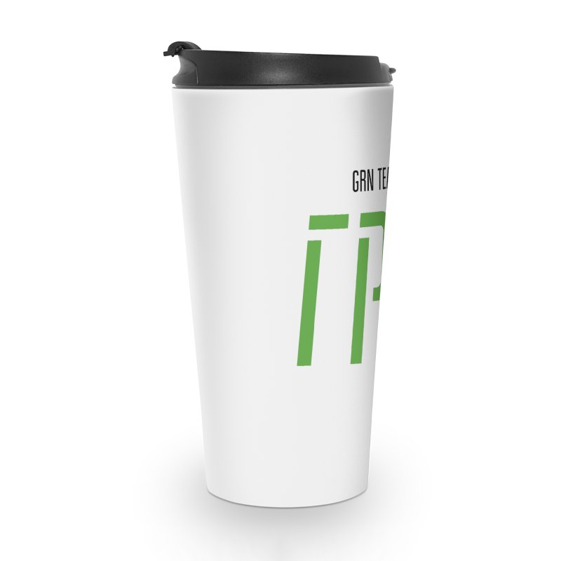 ЛАЙТ ГРН / LIGHT GRN Accessories Travel Mug by СУПЕР* / SUPER*