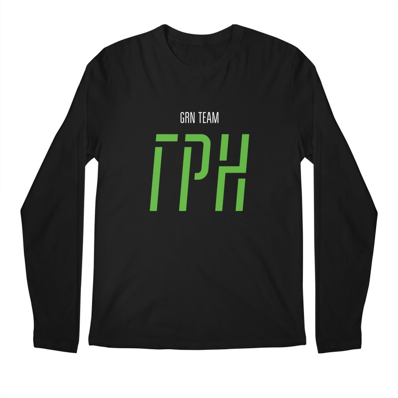 ДАРК ГРН / DARK GRN Men's Regular Longsleeve T-Shirt by СУПЕР* / SUPER*