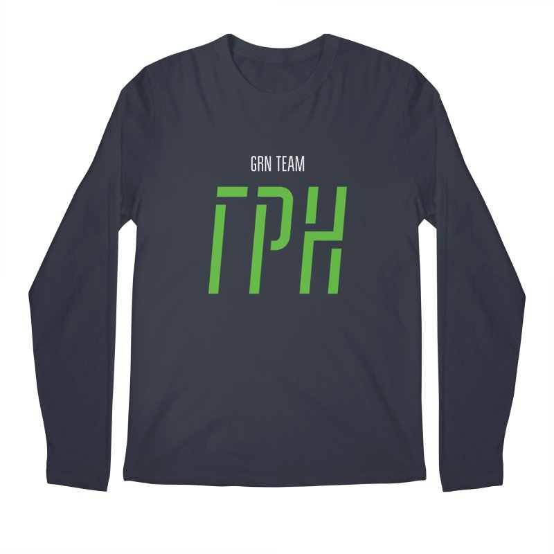ДАРК ГРН / DARK GRN Men's Regular Longsleeve T-Shirt by СУПЕР* / SUPER*