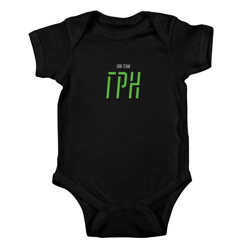 ДАРК ГРН / DARK GRN Kids Baby Bodysuit by СУПЕР* / SUPER*