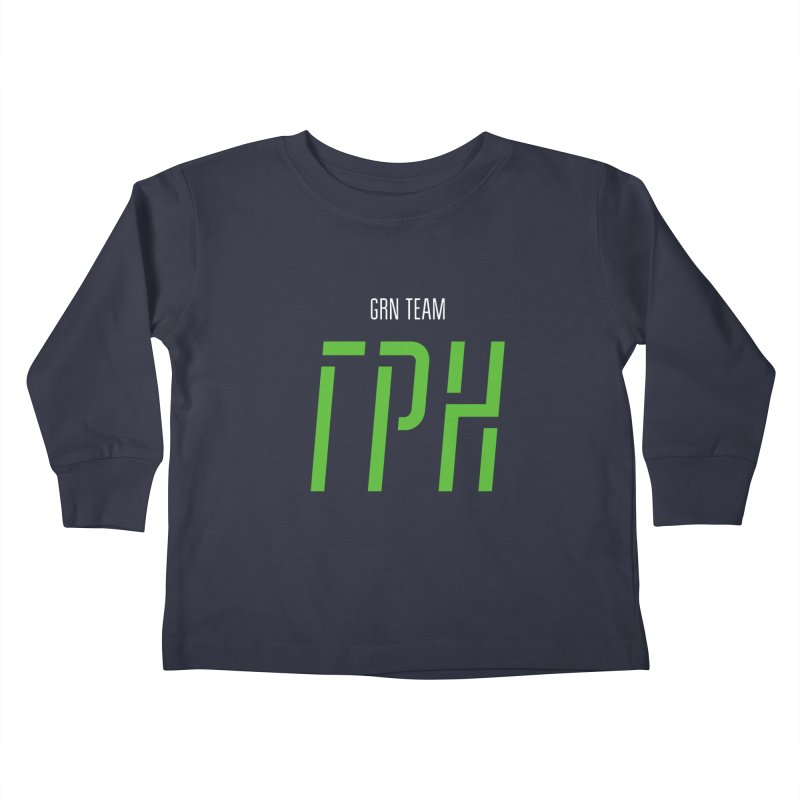 ДАРК ГРН / DARK GRN Kids Toddler Longsleeve T-Shirt by СУПЕР* / SUPER*