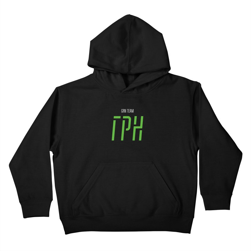 ДАРК ГРН / DARK GRN Kids Pullover Hoody by СУПЕР* / SUPER*
