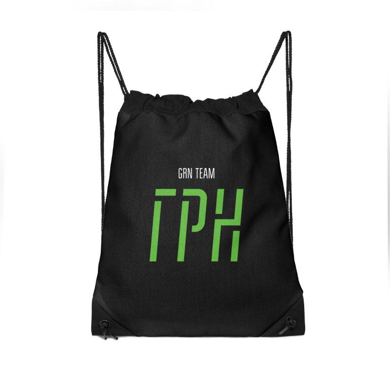 ДАРК ГРН / DARK GRN Accessories Drawstring Bag Bag by СУПЕР* / SUPER*