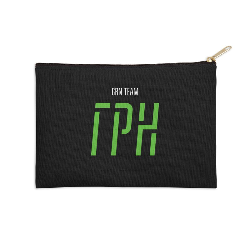 ДАРК ГРН / DARK GRN Accessories Zip Pouch by СУПЕР* / SUPER*