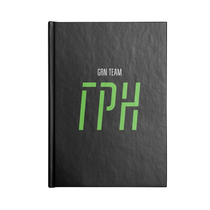 ДАРК ГРН / DARK GRN Accessories Lined Journal Notebook by СУПЕР* / SUPER*