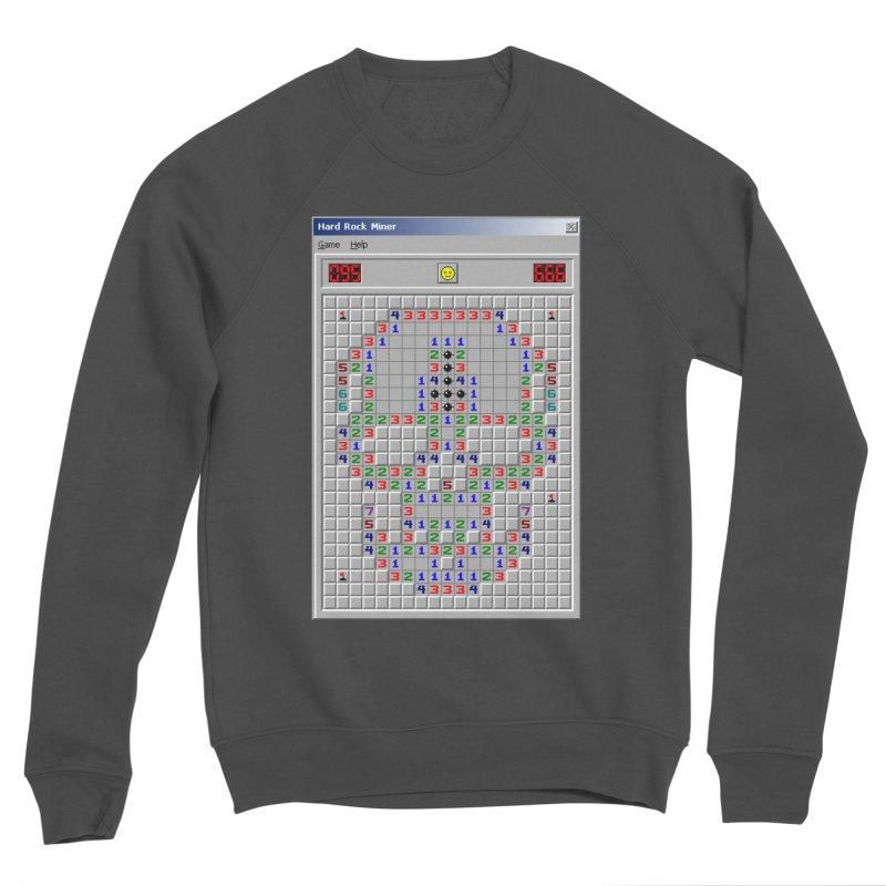 HARD ROCK MINER Women's Sponge Fleece Sweatshirt by СУПЕР* / SUPER*