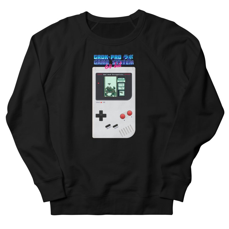 GAME SYSTEM 64bit Women's French Terry Sweatshirt by СУПЕР* / SUPER*