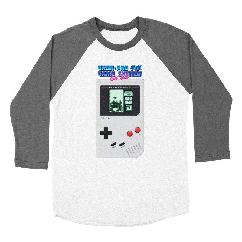 GAME SYSTEM 64bit Women's Baseball Triblend Longsleeve T-Shirt by СУПЕР* / SUPER*