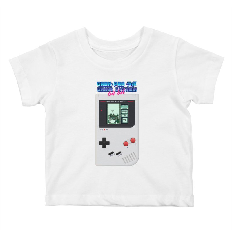 GAME SYSTEM 64bit Kids Baby T-Shirt by ゴロキ | GORODKEY | GRDK Wear & Clothing