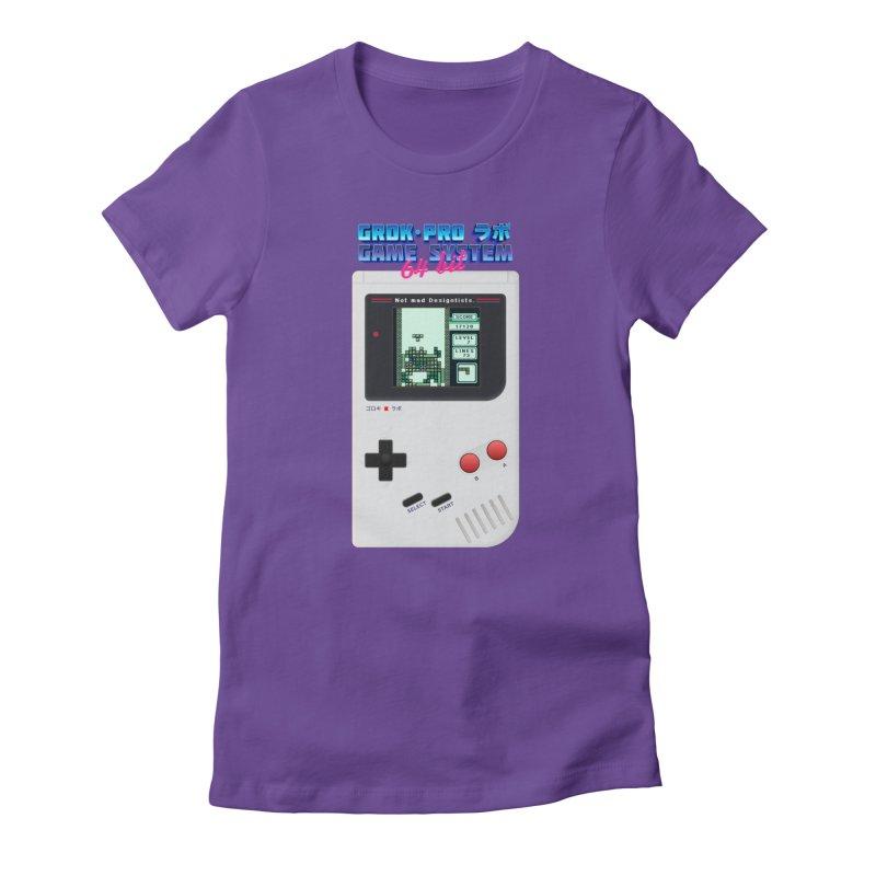 GAME SYSTEM 64bit Women's T-Shirt by ゴロキ | GORODKEY | GRDK Wear & Clothing
