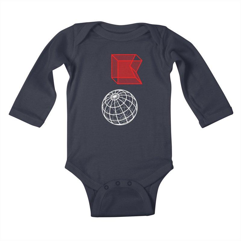 GRDK AR Kids Baby Longsleeve Bodysuit by СУПЕР* / SUPER*