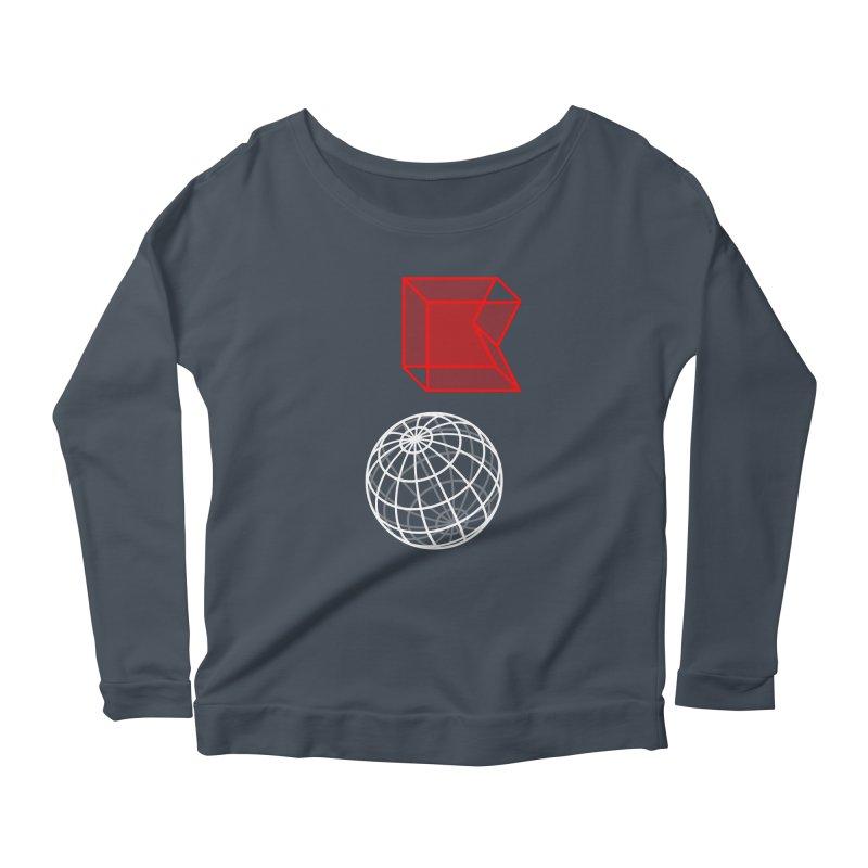 GRDK AR Women's Scoop Neck Longsleeve T-Shirt by СУПЕР* / SUPER*