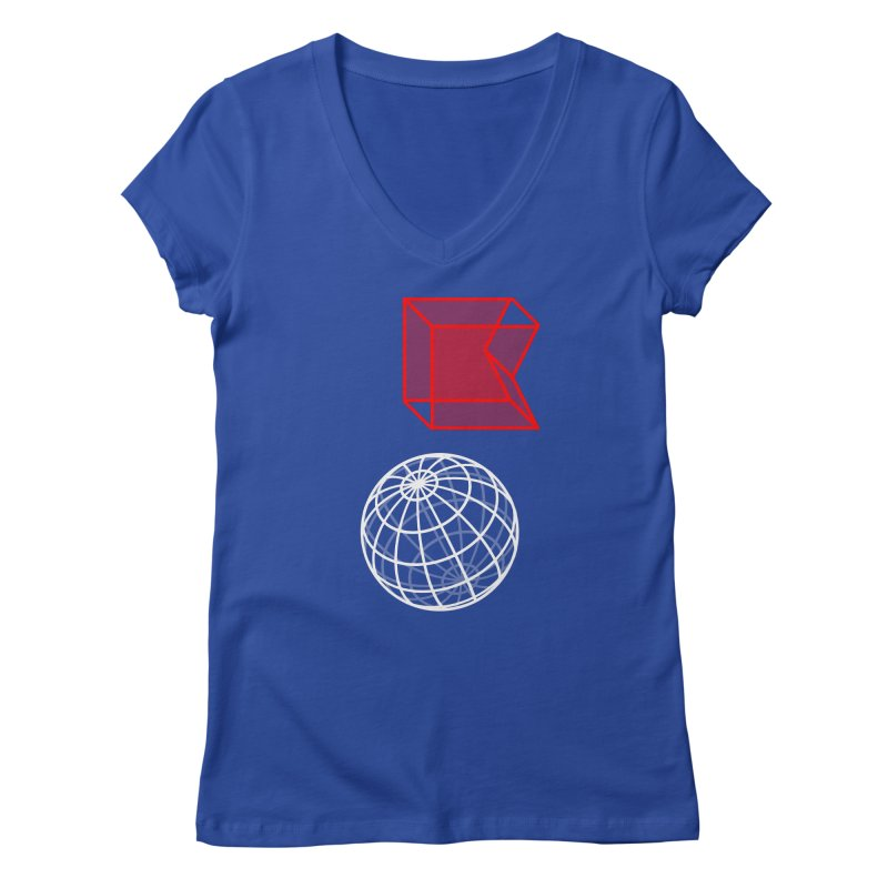 GRDK AR Women's Regular V-Neck by СУПЕР* / SUPER*