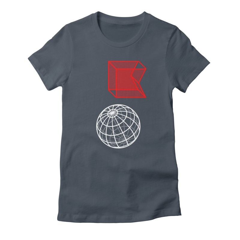 GRDK AR Women's Fitted T-Shirt by СУПЕР* / SUPER*