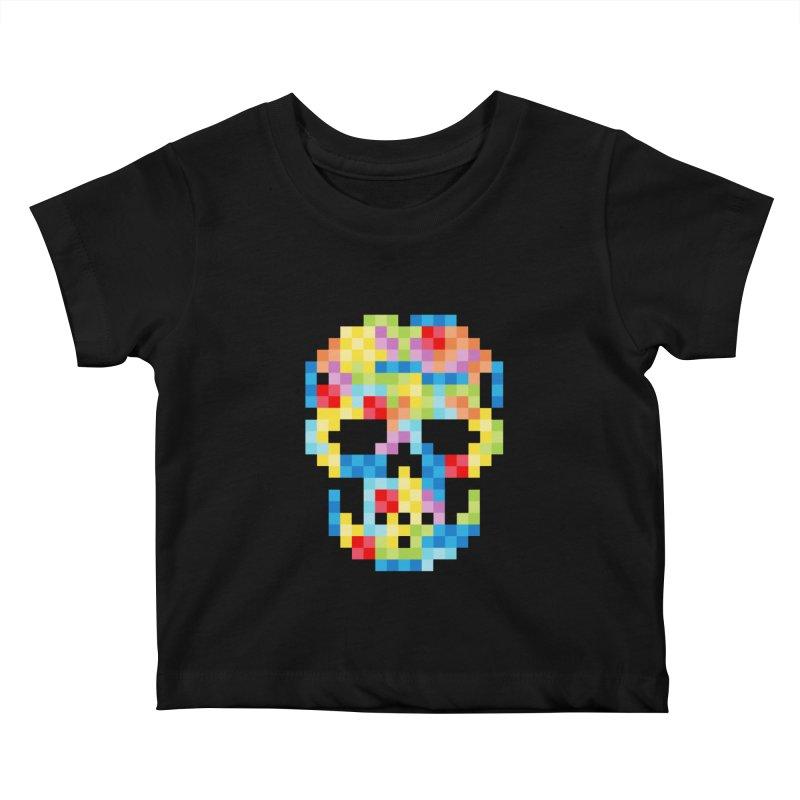 SKULLOVSKI Kids Baby T-Shirt by ゴロキ | GORODKEY | GRDK Wear & Clothing