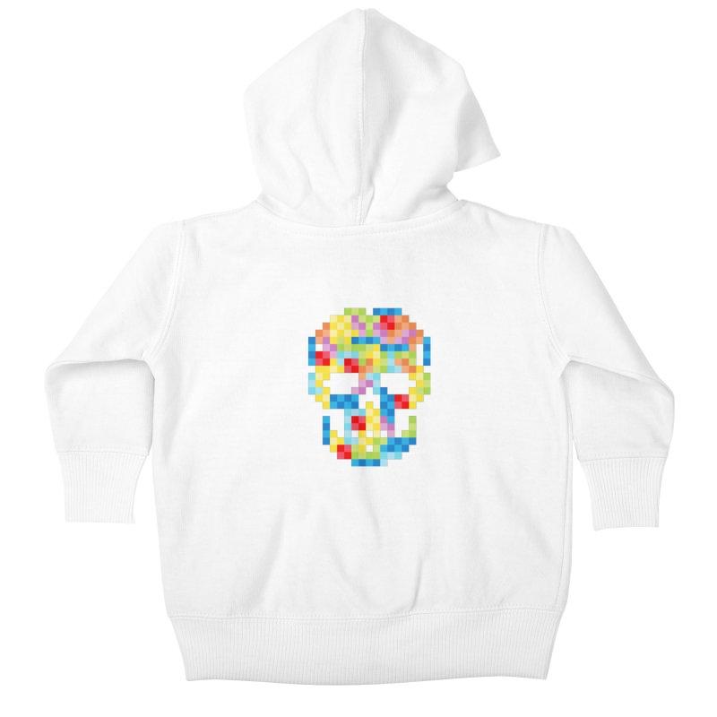SKULLOVSKI Kids Baby Zip-Up Hoody by ゴロキ | GORODKEY | GRDK Wear & Clothing
