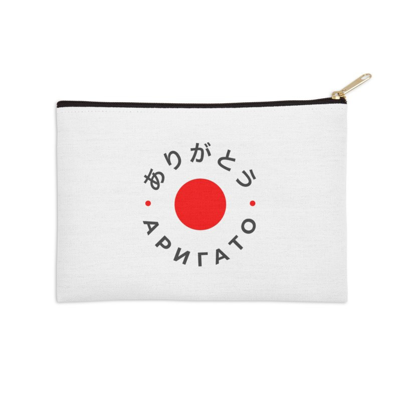 Arigato Accessories Zip Pouch by СУПЕР* / SUPER*