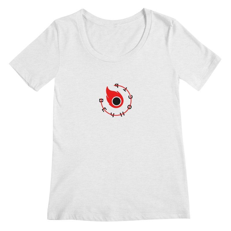 Uneternity Women's Regular Scoop Neck by ゴロキ | GORODKEY | GRDK Clothing