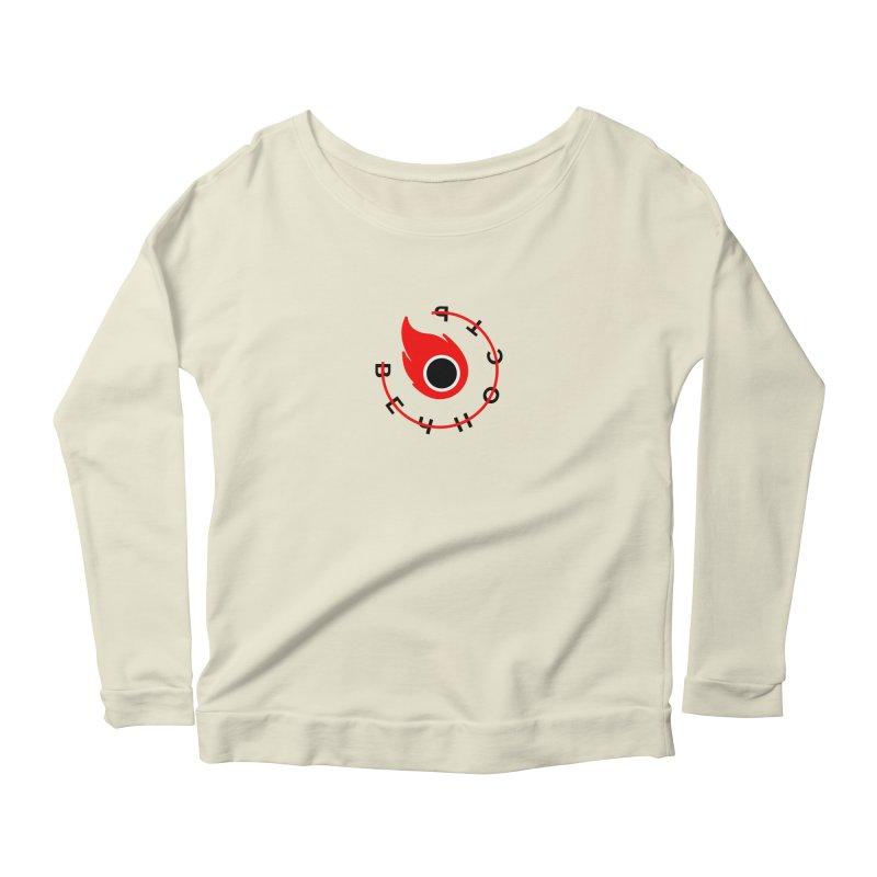 Uneternity Women's Scoop Neck Longsleeve T-Shirt by СУПЕР* / SUPER*