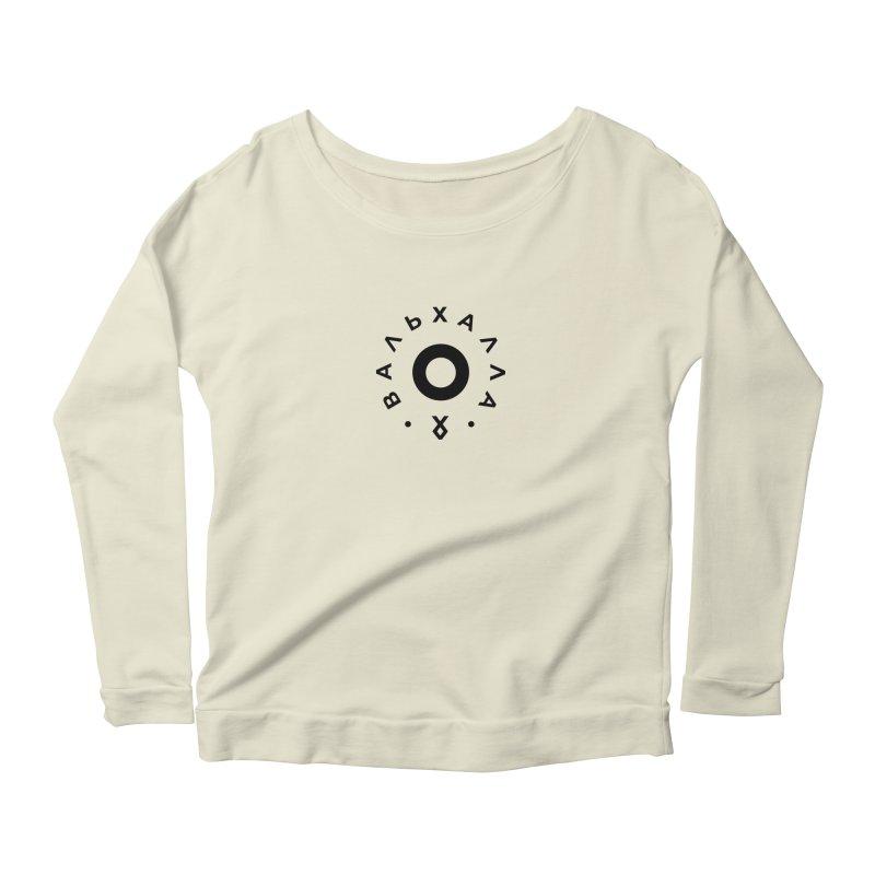 Valhalla Women's Scoop Neck Longsleeve T-Shirt by СУПЕР* / SUPER*